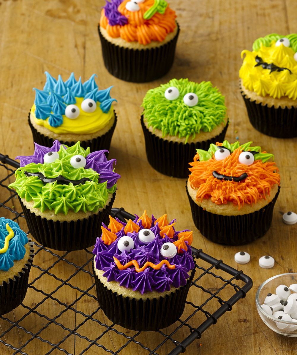 Scary Monster Cupcakes Recipe Walmart
